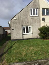 Thumbnail 1 bed end terrace house to rent in Eigan Crescent, Swansea