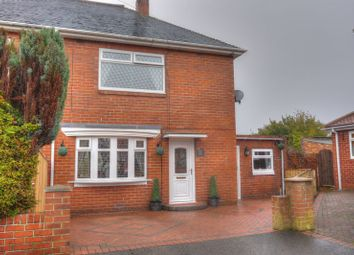 Thumbnail 2 bed semi-detached house for sale in Dene View West, Bedlington
