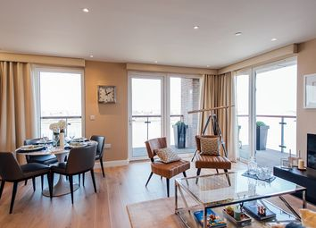 Thumbnail 2 bed flat for sale in Waterfront 1, Royal Arsenal Riverside