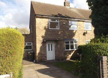 Thumbnail 2 bed semi-detached house for sale in Johnson Avenue, Hucknall, Nottingham, Nottinghamshire