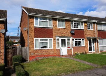 Thumbnail 3 bed end terrace house for sale in Cowden Road, Maidstone