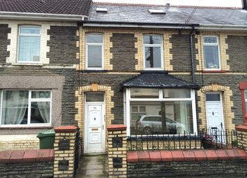 Thumbnail 3 bed terraced house to rent in St. Mary Street, Bedwas, Caerphilly