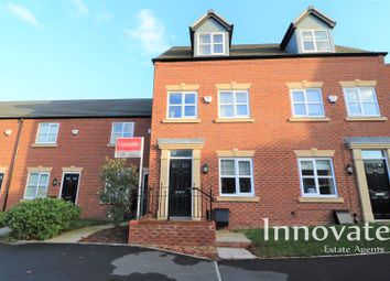 Thumbnail 3 bed town house for sale in Bhullar Way, Oldbury