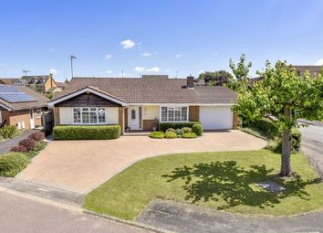 Thumbnail 4 bed detached bungalow for sale in Kendal Close, Rushden, Northamptonshire