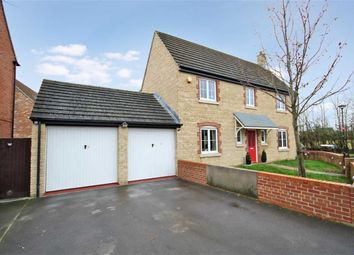 Thumbnail 4 bed detached house for sale in Cassini Drive, Swindon, Wiltshire