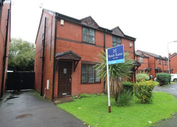 Thumbnail 2 bed semi-detached house for sale in Sparrow Close, Reddish, Stockport, Cheshire