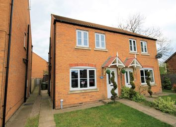 Thumbnail 3 bed semi-detached house for sale in The Wickets, Warsop, Mansfield