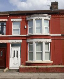 Thumbnail 3 bed terraced house to rent in Eastdale Road, Wavertree