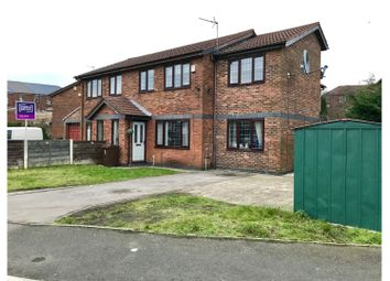 Thumbnail 4 bed semi-detached house for sale in Edgemoor Close, Oldham