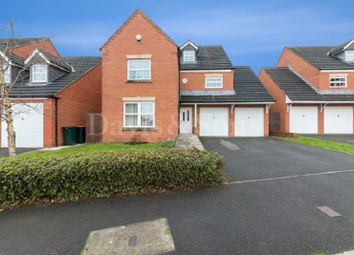 Thumbnail 5 bed detached house for sale in Ffordd Camlas, Rogerstone, Newport.