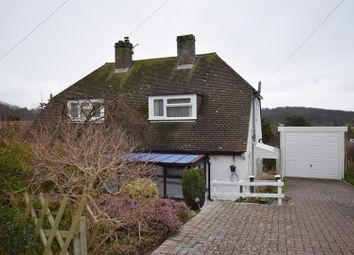 Thumbnail 2 bed semi-detached bungalow for sale in High Ridge, Hythe