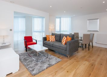 Thumbnail 2 bed flat to rent in Sky View Tower, London