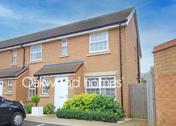 Thumbnail 3 bed end terrace house for sale in Richborough Close, Margate