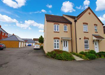 Thumbnail 2 bedroom semi-detached house to rent in Havisham Drive, Swindon