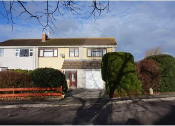 Thumbnail 4 bed semi-detached house for sale in Wolsey Close, Wells