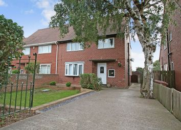 Thumbnail 3 bed semi-detached house for sale in Rose Avenue, Upton, Pontefract