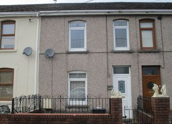 Thumbnail 3 bedroom terraced house for sale in Brecon Road, Ystradgynlais, Swansea.