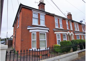 Thumbnail 2 bed end terrace house for sale in Fishers Road, Totton