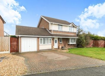 Thumbnail 4 bed detached house for sale in Alderberry Road, Hawarden, Deeside, Flintshire