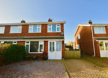 Thumbnail 3 bed semi-detached house for sale in Cottesmore Road, Stamford