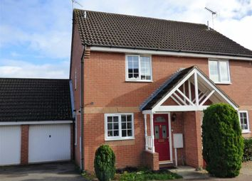 Thumbnail 2 bed semi-detached house for sale in Rhodes Close, Daventry