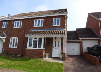Thumbnail 3 bed semi-detached house for sale in Bromham, Beds
