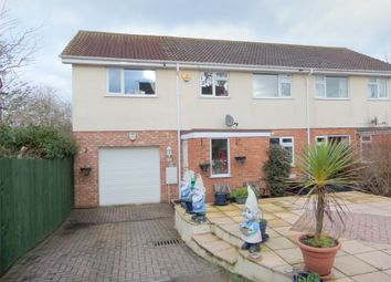 Thumbnail 5 bed semi-detached house for sale in Sylvan Close, Exmouth, Devon