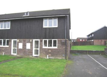 Thumbnail 2 bed end terrace house to rent in Highclere Close, Newmarket