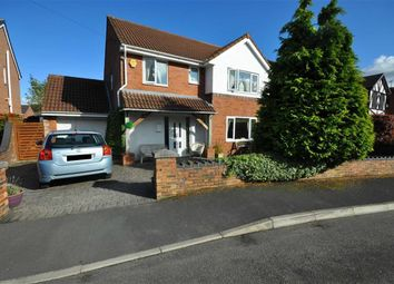 Thumbnail 4 bed detached house for sale in The Brackens, Buckley