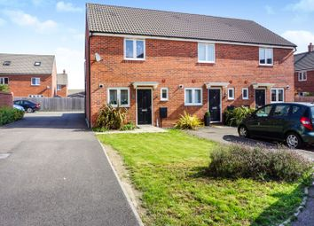 Thumbnail 2 bed semi-detached house for sale in Chimney Crescent, Irthlingborough
