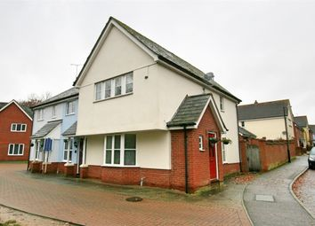 Thumbnail 3 bed end terrace house for sale in Southgate Crescent, Tiptree, Colchester, Essex