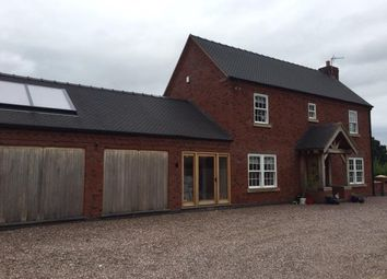 Thumbnail 3 bed detached house for sale in Ashfields, Hinstock, Market Drayton