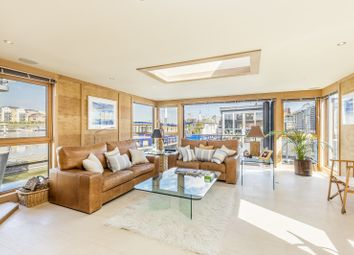 Thumbnail 4 bedroom houseboat for sale in Riverside Quarter Moorings, Wandsworth