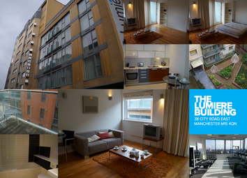 Thumbnail Studio to rent in Lumiere Building, 38 City Road East, Manchester