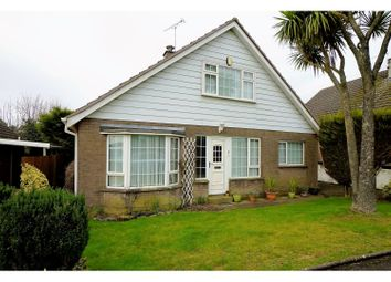 Thumbnail 4 bedroom detached house for sale in The Poplars, Bangor