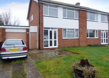 Thumbnail 3 bed semi-detached house for sale in Blondell Drive, Bognor Regis