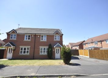Thumbnail 3 bed detached house to rent in Knights Road, Chellaston, Derby