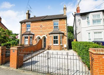 Thumbnail 3 bed semi-detached house for sale in Park Road, Farnborough, Hampshire