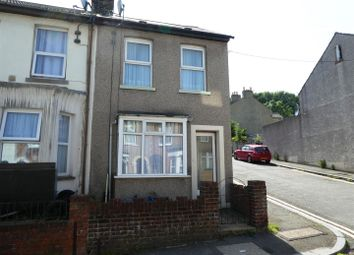 Thumbnail 2 bed end terrace house to rent in Oswald Road, Dover