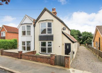 Thumbnail 3 bed semi-detached house for sale in Burnan Road, Tankerton, Whitstable