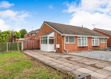 Thumbnail 2 bed bungalow for sale in Langdale Drive, Cannock, Staffordshire