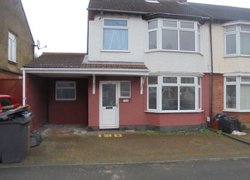Thumbnail 4 bedroom semi-detached house to rent in Argyl Ave, Luton