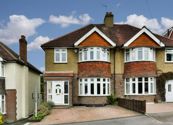 Thumbnail 3 bed semi-detached house for sale in Redstone Park, Redhill