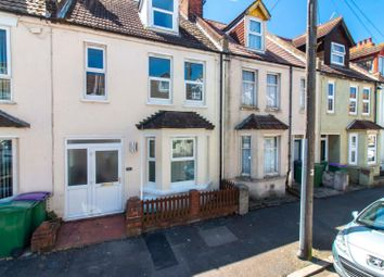 Thumbnail 3 bed terraced house for sale in Invicta Road, Folkestone