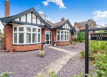 Thumbnail 4 bed bungalow for sale in Park Road, Peterborough, Cambridgeshire