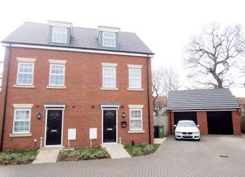 Thumbnail 3 bed semi-detached house for sale in Old Oak Close, Wymondham