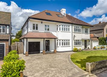 Thumbnail 5 bedroom semi-detached house for sale in Petts Wood Road, Petts Wood, Orpington