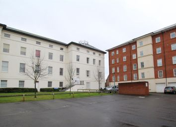 Thumbnail 1 bedroom flat for sale in The Crescent, Gloucester