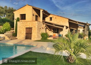 Thumbnail 3 bed villa for sale in Tourrettes Sur Loup, French Riviera, France