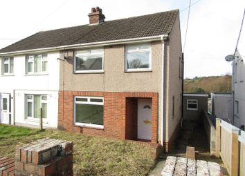 3 bed semi-detached house for sale in Rhyddwen Road, Craig-Cefn-Parc, Swansea SA6